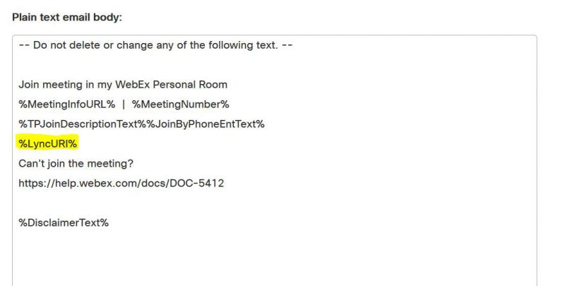 Join Cisco WebEx from Microsoft Lync - CollabMonkeys